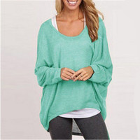 Hot Popular Women Cardigan Knit Loose T-Shirt _ 10612