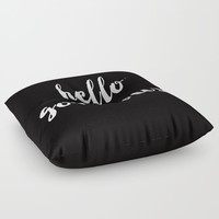 Hello Gorgeous! Floor Pillow by All Is One