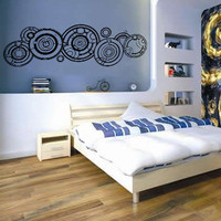 Dr. Who Gallifreyan Wall Decal Sticker EXTRA LARGE
