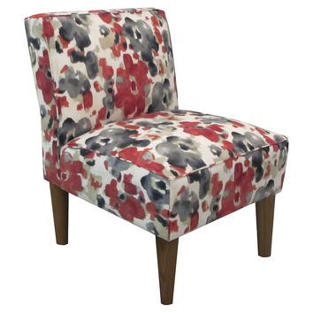 Finnegan Accent Chair, Currant/Multi, Accent & Occasional Chairs