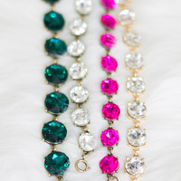 Crystal Dot 2 Bracelets