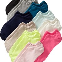 Old Navy Womens Multi Colored Liner Sock 10 Packs Size One Size - Multi pack