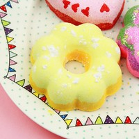 Banana Rama Mini Flower Donut Bath Bomb