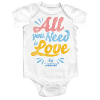 BEATLES Onesuit - All you Need is Love