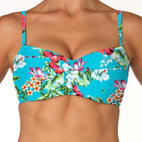 Sunsets Separates Morning Breeze - Underwire Twist Bandeau Top