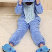 Cosplay Halloween Romper Stitch Costume party Pajamas Unisex Kigurumi Stitch M