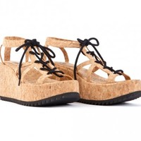 Barcelona Wedge Shoes
