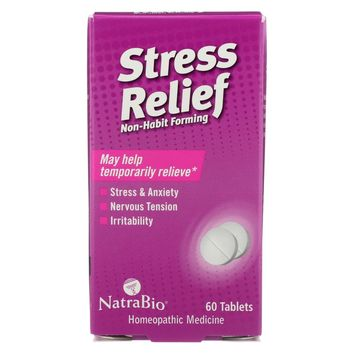 Natrabio Stress Relief Non-habit Forming - 60 Tablets