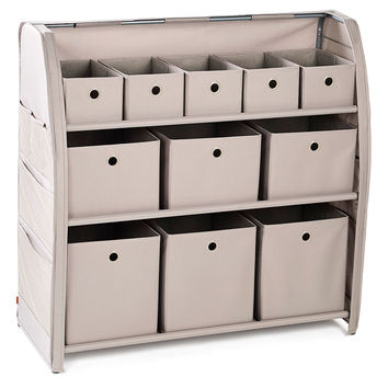 3-Tier Home Organization Center, Storage Boxes & Bins