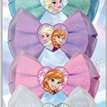 Frozen Hair Bows, 4 Count