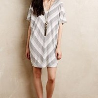 Paned Cocoon Dress