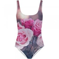 Mr Gugu & Miss Go | Floral Roses Onepiece Swimsuit | Spoiled Brat