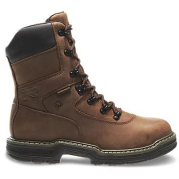 "Wolverine MARAUDER WATERPROOF STEEL-TOE EH LACE UP 8"" 400G Insulated Work Boots"