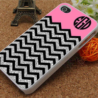 chevron monogram iphone 5 case iphone 5c case iphone 5s case iphone 4s case iphone 4 cases chevron Phone Cases