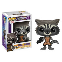 Rocket Raccoon Guardians Of The Galaxy Pop Vinyl Figure Bobble Head