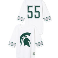 Michigan State University Throwback Jersey