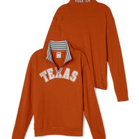 University of Texas Boyfriend Half-Zip - PINK - Victoria's Secret