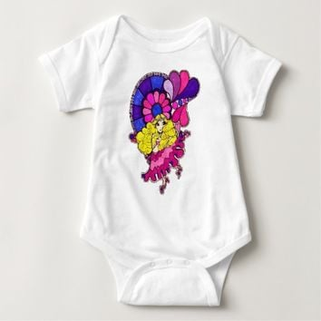 Flower Maiden of Love Baby T-shirts