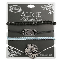 Disney Alice In Wonderland Curiouser Bracelet Set