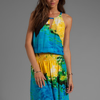 Tracy Reese Silk Prints Halter Maxi in Swimmer from REVOLVEclothing.com
