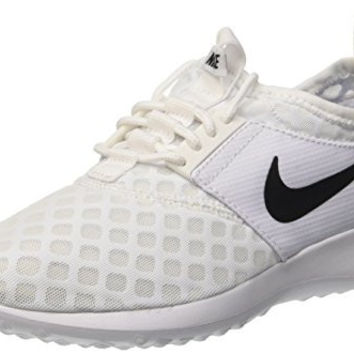 Nike Women's Juvenate White/Black Running Shoe 8 Women US