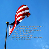 America The Beautiful - Us Flag By Sharon Cummings Song Lyrics