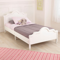 Raleigh Twin Bed - White