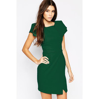 Pencil Dress With Sleeve Sale LAVELIQ