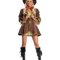Mad Hatter With Jacket Costume | Sexy Clothes Womens Sexy Dresses Sexy Clubwear Sexy Swimwear | Flirt Catalog