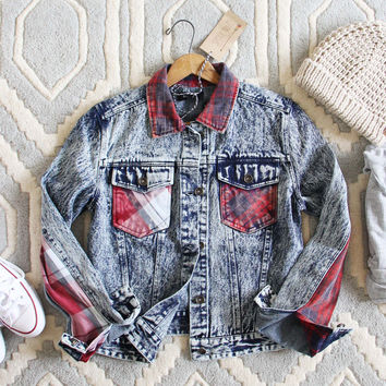 The Tucker Jean Jacket in Plaid