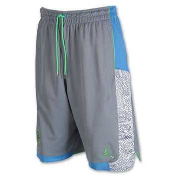 Men's Jordan Spizike Blocked Basketball Shorts
