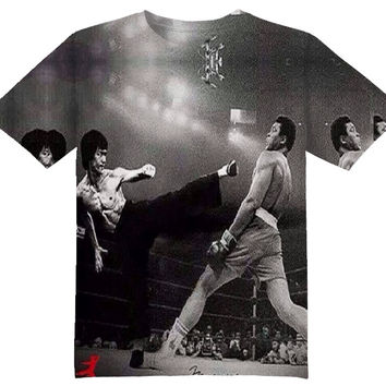 ALI VS. BRUCE LEE TEE SHIRT