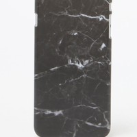 LA Hearts Black Marble iPhone 6+/6+s Case - Womens Scarves - Black - One