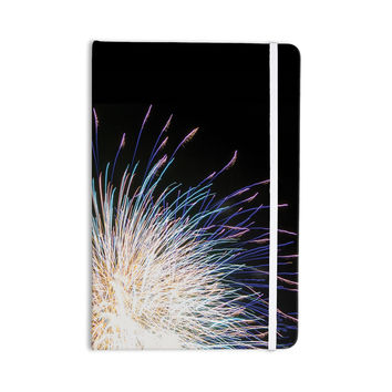 "Jillian Audrey ""Firework"" Black Pastel Everything Notebook"
