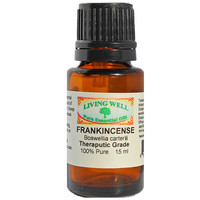 Frankincense 100% Theraputic Quality Pure Essential Oil - 15 ml