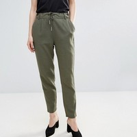 Only Summer Linen String Trousers at asos.com