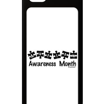Autism Awareness Month - Puzzle Pieces iPhone 5 / 5S Grip Case  by TooLoud