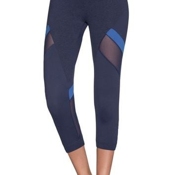 Maaji Current Emana Crop Leggings | Nordstrom