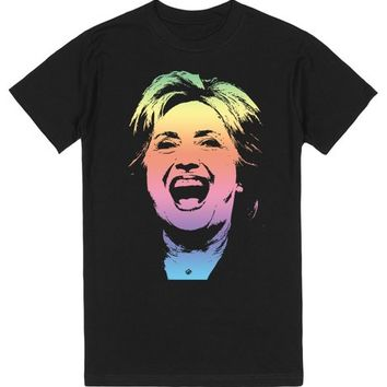Rainbow Pride for Hillary Clinton