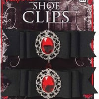Vampiress Shoe Clips