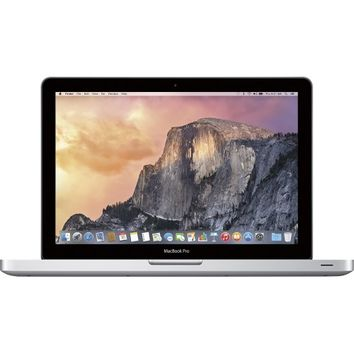 "Apple - MacBook® Pro - Intel Core i5 - 13.3"" Display - 4GB Memory - 500GB Hard Drive - Silver"