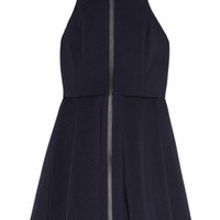 T by Alexander Wang Pleated neoprene mini dress – 45% at THE OUTNET.COM