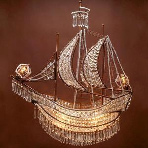 Crystal Ship Chandelier Hanging Lamps From Z Gallerie My