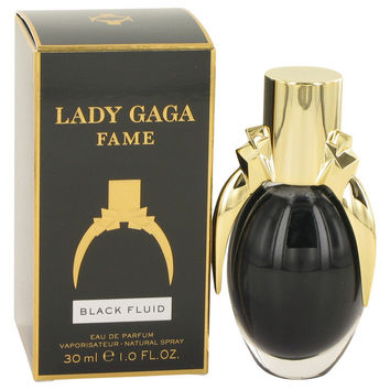 Lady Gaga Fame Black Fluid by Lady Gaga Eau De Parfum Spray for Women