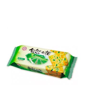 Green Onion Savory Taiwanese Soda Crackers, 4.9 oz (140 g)