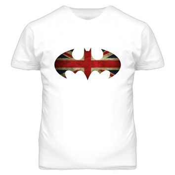 Youth Union Jack Batman T-Shirt