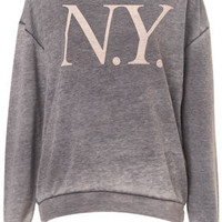 Tall Burnout NY Sweat - New In This Week  - New In