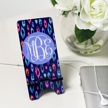 Monogram Cell Phone Stands