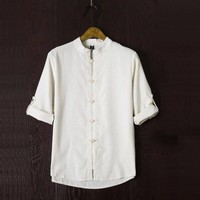 Mens Ancient Linen Shirt