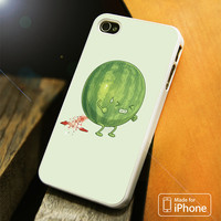 Watermelon Funny Cartoon iPhone 4S 5S 5C SE 6S Plus Case